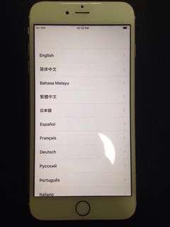 Iphone 6 plus gold (64 GB) icloud lock
