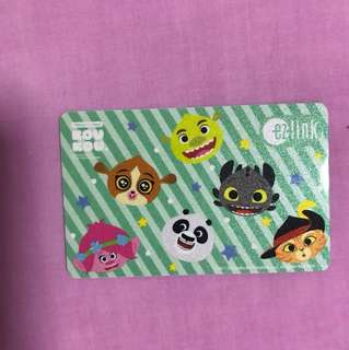 KouKou EZlink card with $7 initial value