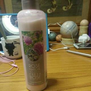 Yves rocher rose body lotion