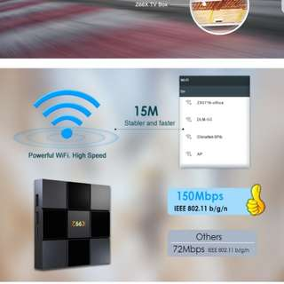 Z66X Z2 2GB 16GB Android TV Box
