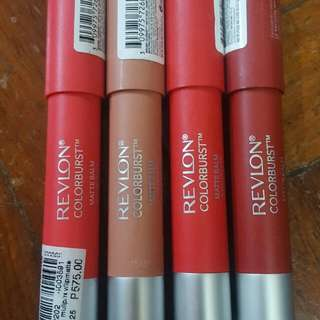 Revlon Colorburst Matte Balm (Set)