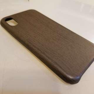 iPhone X 木紋手機殻
