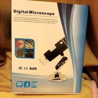全新 數位顯微鏡 接駁電腦 digital microscope