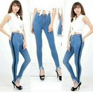 Jeans motif baru & termurah(slide more)