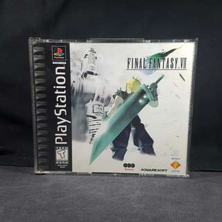 PS1 Final Fantasy VII (Black Label) (Used Game)