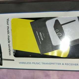 music transmitter/receiver