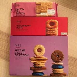 M&S biscuits puffs