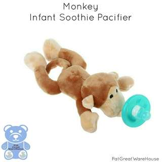 Monkey Infant Soothie Pacifier