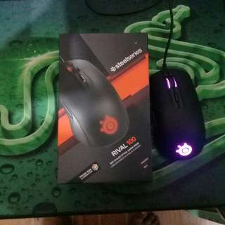 SteelSeries Rival 100 Optical Gaming Mouse