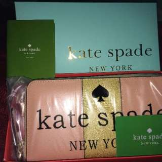 auth. kate spade wallets