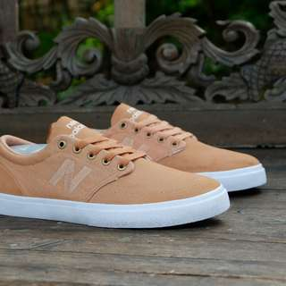 New balance original numeric 345 brown murah preloved