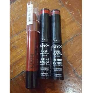 NYX Lipsticks (Set)