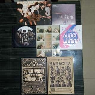 Super Junior 專輯 $10一隻