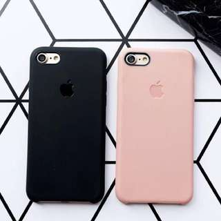 Case silicone iphone 6 - pink