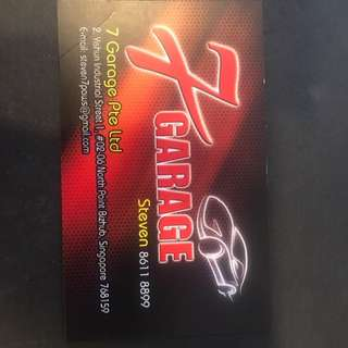 Car/lorry servicing by 7 Garage(mobile)