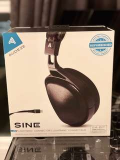 Audeze Sine with Cipher cable headphones SEALED