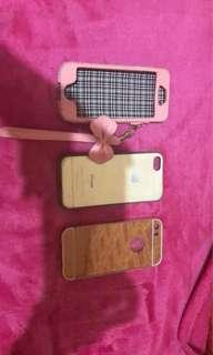 Case iphone 5s. 50rb dapet 3pcs