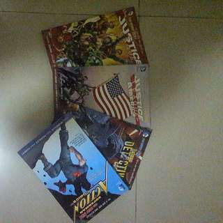 PAKET DC COMICS NEW 52 JUSTICE LEAGUE + BATMAN + SUPERMAN