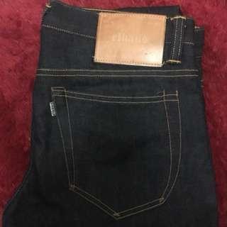 Elhaus Dweller Shell Stitched Jeans Original Authentic