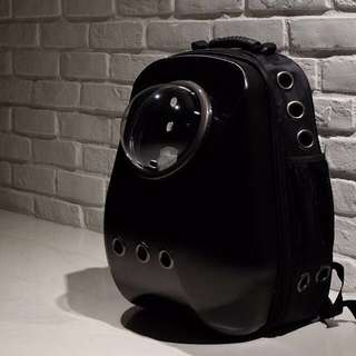 """Black"" Upsize Cat Bubble Backpack Carrier"