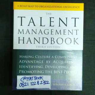 TALENT MANAGEMENT HANDBOOK 3ED