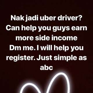 Make extra money by driving uber By just driving car u will earn more money Just click the link  Easy as abc  💰💵💰💴💰💵   https://partners.uber.com/i/1pwgc5w9g  Can earn 1k-4k per month