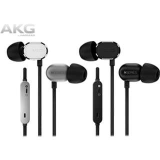 全新 AKG N20U 黑銀 2色 入耳式 耳機 有Mic 支援 Apple iPhone iOS Android 手機 mobile