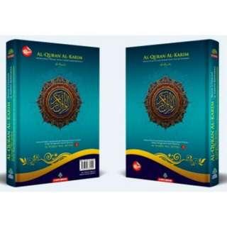 Al-Quran Al-Karim Mushaf Waqaf & Ibtida A5