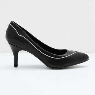 Ansel Heels Bymay BLACK