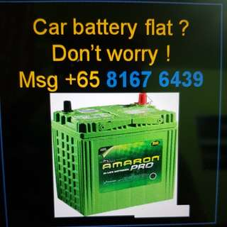 Car - Battery power up service at your location