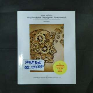 PSYCHOLOGICAL TESTING AND ASSESSMENT 9ED