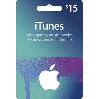 Apple iTunes Gift Card Digital Code (US/JP)