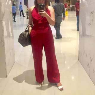 Apartment eight inspired halter jumpsuit High quality