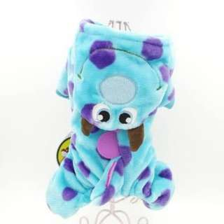 Monsters Inc Sulley Dog Costume