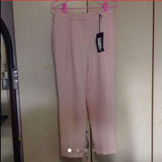 $149 Marks & Spencer Pastel Pink Formal Working Pant (Brand New With Tag)