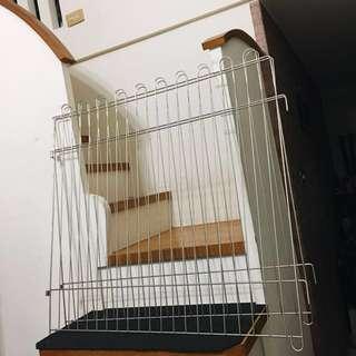 寵物 鐵柵欄 多功能 鐵門 鐵籠 門欄 擋門 擋通道 隔擋 圍籬 中大型狗狗適用 鐵圍欄 x3