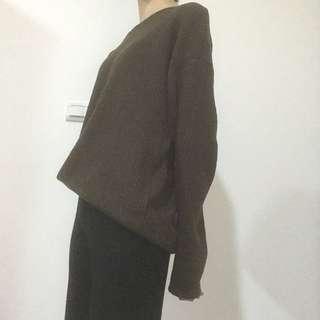 Corban綠針織上衣
