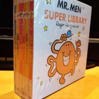 Mr. Men Super Library (6 books)