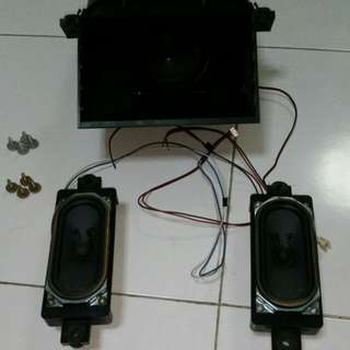 Speakers Sharp 12Wx2, 8 ohms