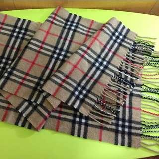Burberry cashmere scarf (正版)
