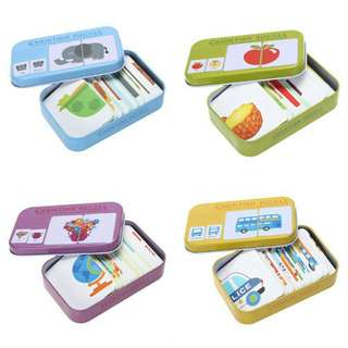 Educational Matching Cognition Card Box