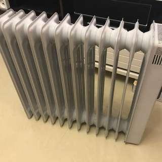 Philip 2500w heater暖爐