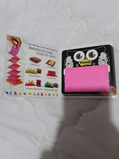 Post it! Reminder with Portables Dispenser