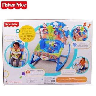 Fisher Price Infant to Toddler Baby Rocker (Blue) ON-HAND!