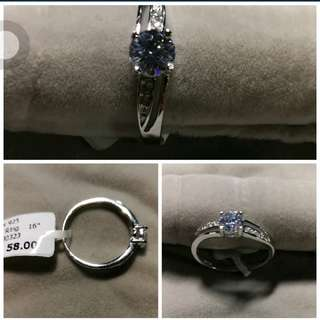 Size 16 Bling Lady Ring