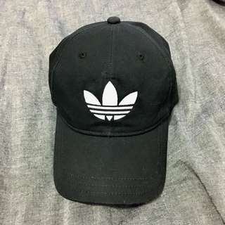 Adidas originals二手黑色logo老帽