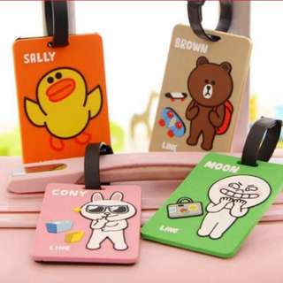 Luggage/Bag tags - LINE Friends