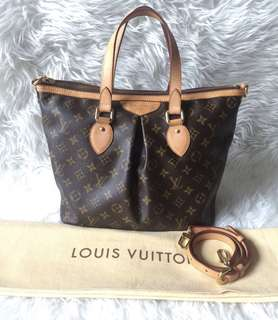 Louis Vuitton Palermo PM Monogram 2011 | with Bag, Strap and Dustbag
