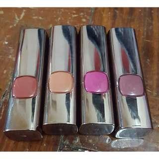 Loreal Color Riche Lipsticks (Set)
