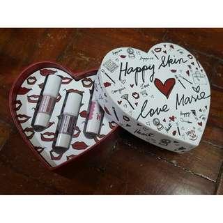 Happy Skin Love Marie Shut Up & Kiss Me Mini Matte Lippie Trio